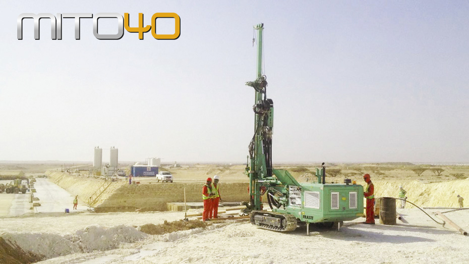 fraste foundation drilling rig MITO40 60 ph15