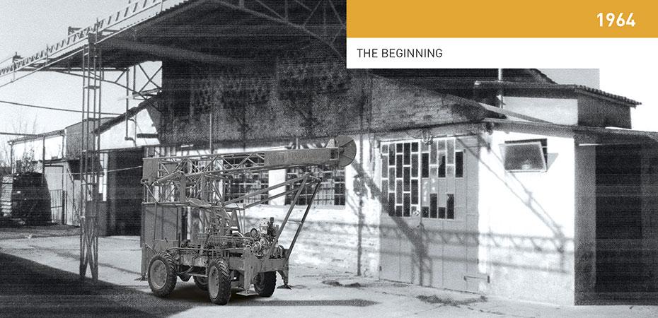 The history of Fraste - Fraste Spa - mobile drilling rigs and truck