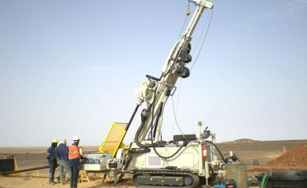 fraste explortion xl drilling rig 1