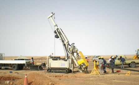 fraste explortion xl drilling rig 4
