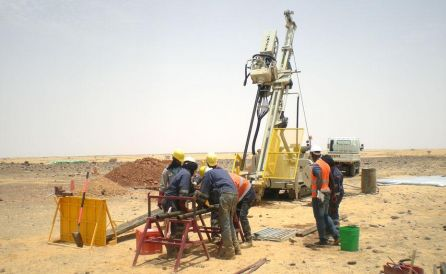 fraste explortion xl drilling rig 5