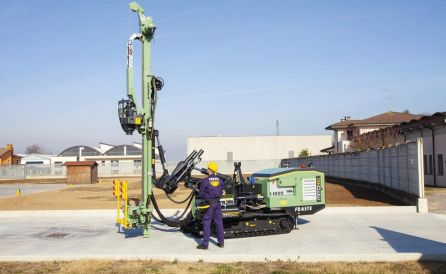 fraste mito40 foundation drill rig 1