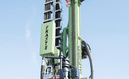 fraste mito40 foundation drill rig 4