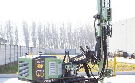 fraste mito40 foundation drill rig 6