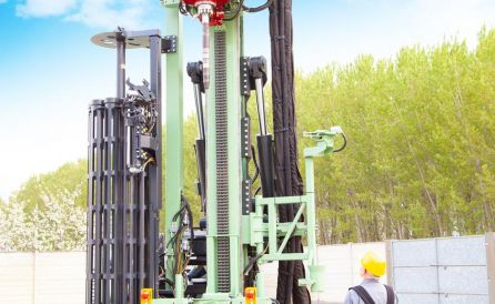 fraste mito 100 TB foundation drill rig 2