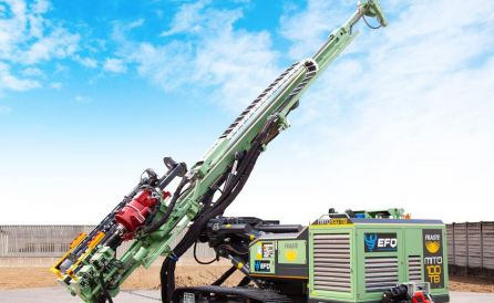 fraste mito 100 TB foundation drill rig 5