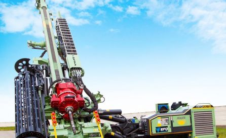 fraste mito 100 TB foundation drill rig 7