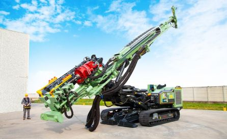 fraste mito 100 TB foundation drill rig 8