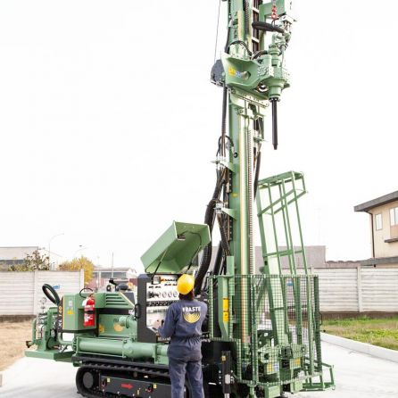 fraste multidrill XL140 drilling rig13