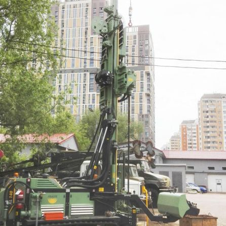fraste multidrill XL140 drilling rig8
