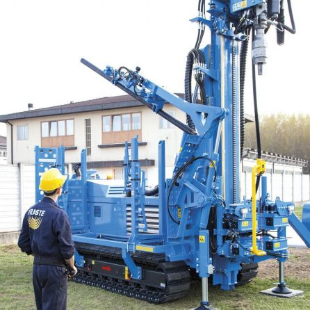 fraste multidrill XL170 drilling rig5