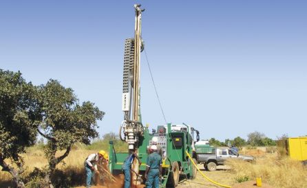 fraste multidrill ml T drill rig 4